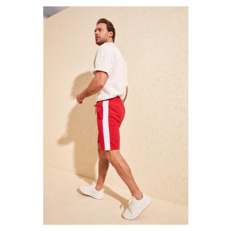 Trendyol Red Men Paneled Shorts & Bermuda