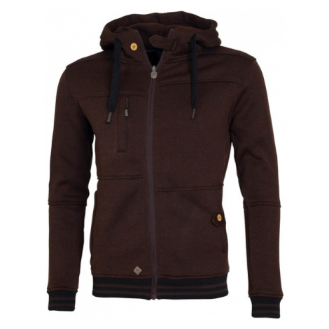 Męska Bluza Fleece Polar | Brązowa Fellas Fleece Men´s Brown Woox