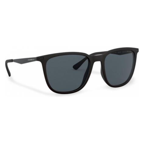 Emporio Armani Okulary przeciwsłoneczne 0EA4149 504287 Czarny