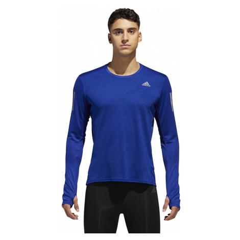 Bluza adidas Response LS Tee M Niebieska