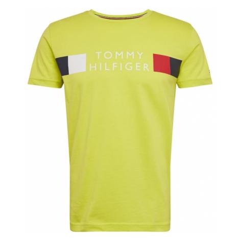 TOMMY HILFIGER Koszulka neonowo-żółty