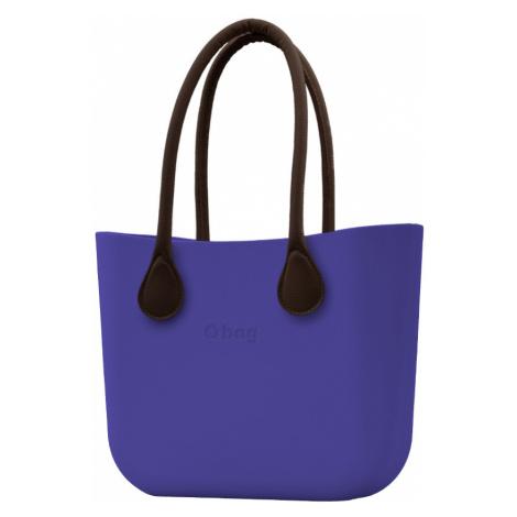 O bag torebka Iris z długimi brązowymi uchwytami ze skajki
