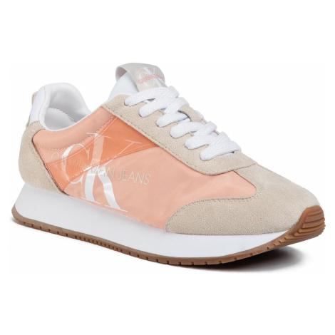 Sneakersy CALVIN KLEIN JEANS - Josepha B4R0872 Light Peony/Stone