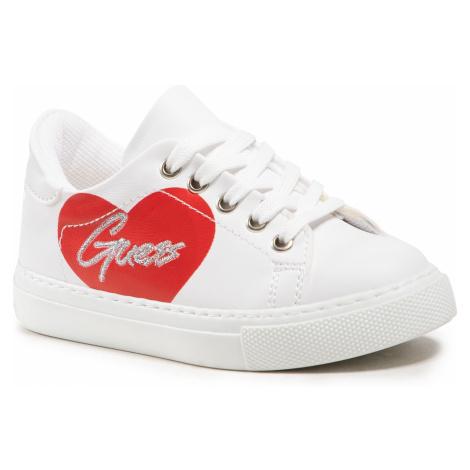 Sneakersy GUESS - Ellie FI5ELL ELE12 WHITE