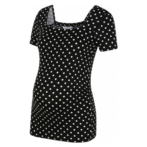 Dorothy Perkins Maternity Koszulka czarny / biały