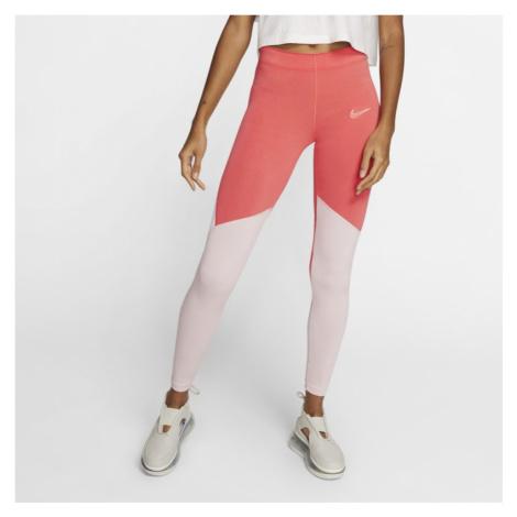 Legginsy damskie Nike Sportswear - Czerwony
