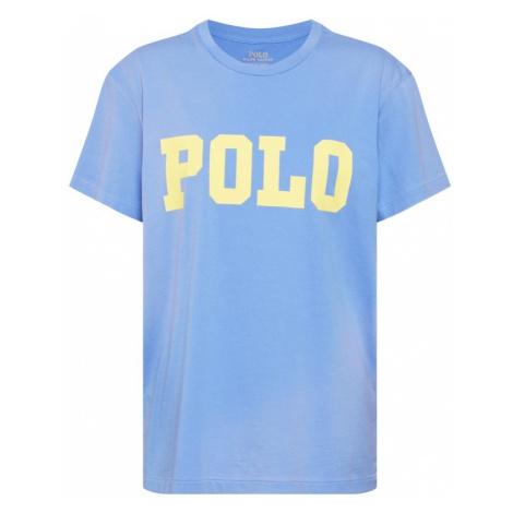 POLO RALPH LAUREN Koszulka 'BIG POLO' jasnoniebieski / żółty