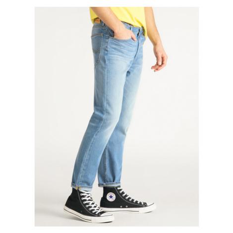 Lee Jeansy Slim Fit Rider L75GMGLP Niebieski Slim Cropped Fit