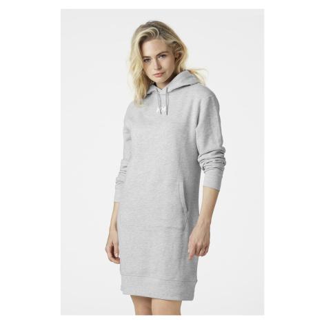 Szara sukienka w stylu bluzy Helly Hansen