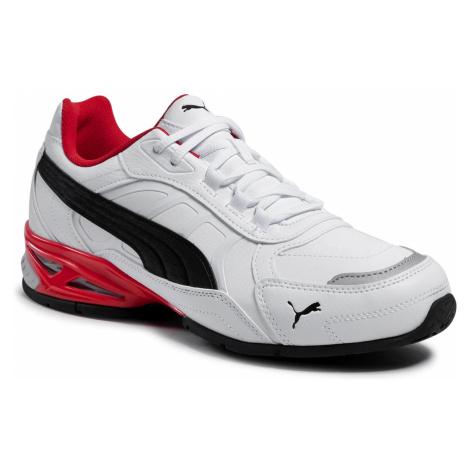 Sneakersy PUMA - Respin Sl 368846 04 White/Black/Silver/Red