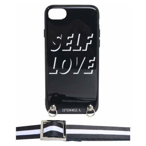 IPHORIA Etui na smartfona 'Necklace Case with Strap' czarny