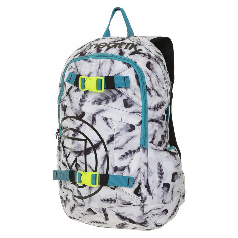 plecak Meatfly Basejumper 3 - N/Feather White Print