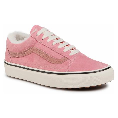 Tenisówki VANS - Old Skool Mte VN0A348F2TJ1 (Mte) Nubuck/Flamingo Pink