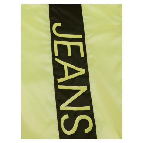 Calvin Klein Jeans Kurtka przejściowa Packable Hero Logo IB0IB00431 Żółty Regular Fit