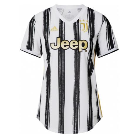 ADIDAS PERFORMANCE Koszulka funkcyjna 'Juve' czarny / biały / żółty