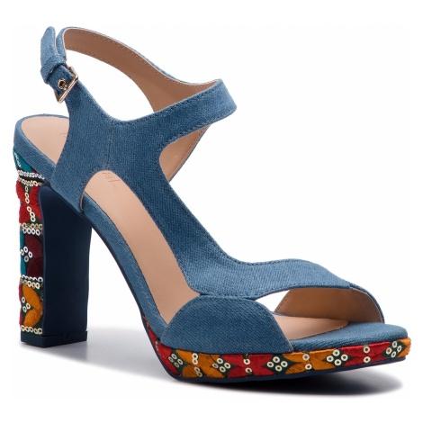 Sandały DESIGUAL - Marylin Exotic 19SSSD05 5006 Niebieski