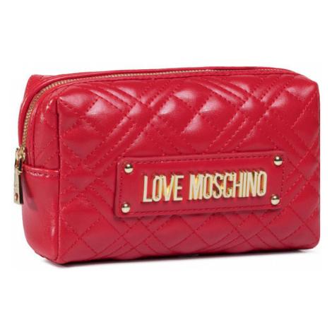 LOVE MOSCHINO Kosmetyczka JC5304PP0BKA0500 Czerwony