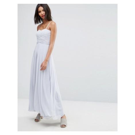 Y.A.S molly maxi dress in grey