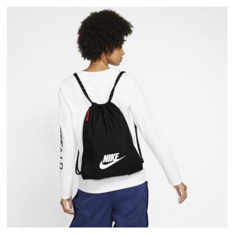 Worek gimnastyczny Nike Heritage 2.0 - Czerń