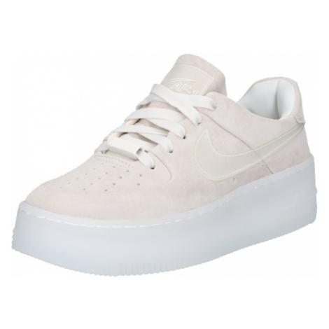 Nike Sportswear Trampki niskie 'W AF1 SAGE LOW LX' beżowy / offwhite