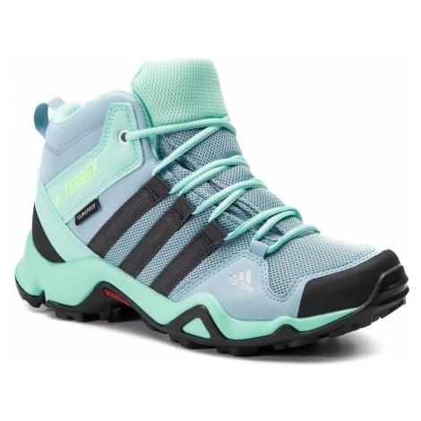 Buty adidas - Terrex Ax2r Mid Cp K BC0672 Ashgre/Carbon/Clemin
