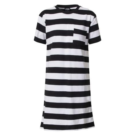 Urban Classics Sukienka czarny / biały