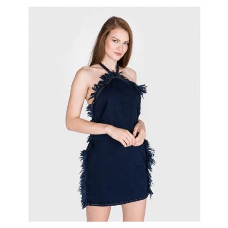 Pinko Gardenia 1 Sukienka Niebieski