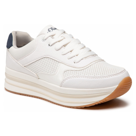 Sneakersy S.OLIVER - 5-23628-26 White 100