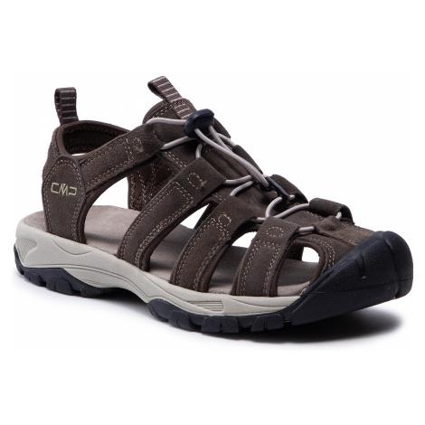 Sandały CMP - Sahiph Leather Hiking Sandal 30Q9507 Wood P961