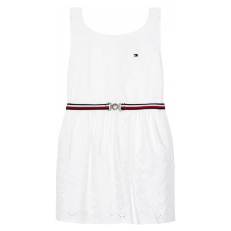 Tommy Hilfiger Sukienka elegancka Shiffley KG0KG05835 M Biały Regular Fit
