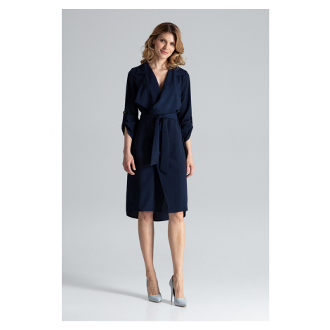 Figl Woman's Dress M464 Navy Blue
