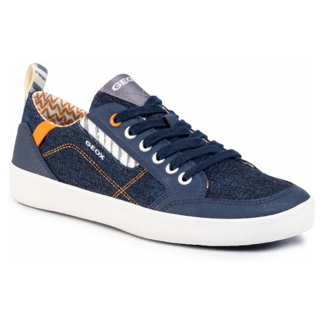 Sneakersy GEOX - J Kilwi B. B J02A7B 013BU C0057 S Blue/Orange