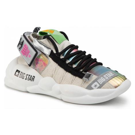 Sneakersy BIG STAR - FF274420 Grey