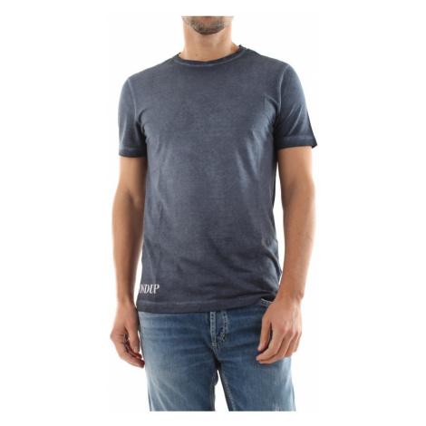 Dondup, Koszulka Us208 Jf0254U Szary, male, rozmiary:
