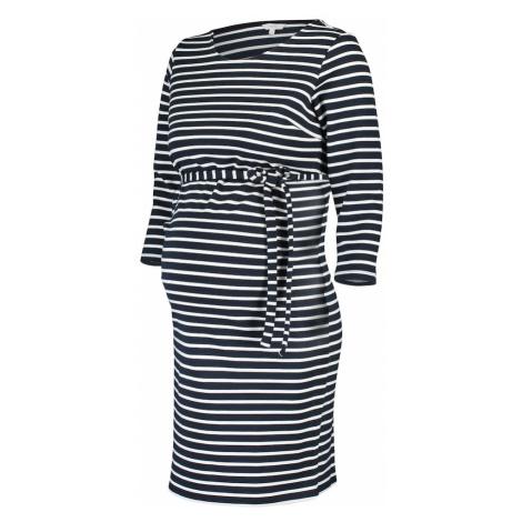 Noppies Sukienka ' Paris Dress ' niebieski / biały