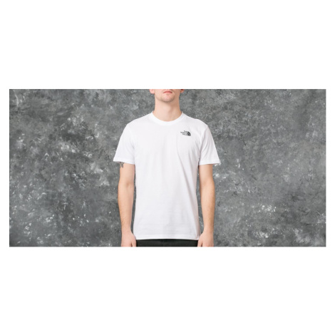 The North Face Short Sleeve Red Box Tee Tnf White