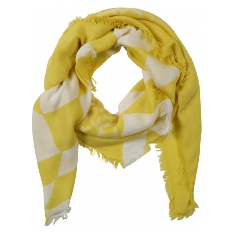 Calvin Klein Chusta 'QUILT FOULARD' żółty