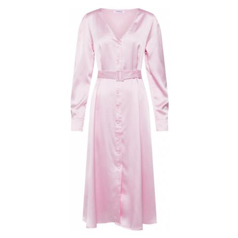 GLAMOROUS Sukienka koszulowa różowy pudrowy