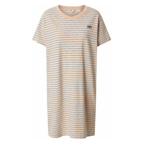 LEVI'S Sukienka 'LULA' czarny / biały / beżowy / łososiowy Levi´s