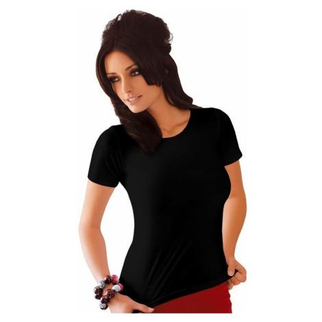 Koszulka damska Carla plus black Babell