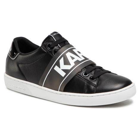Sneakersy KARL LAGERFELD - KL61237 Black Lthr