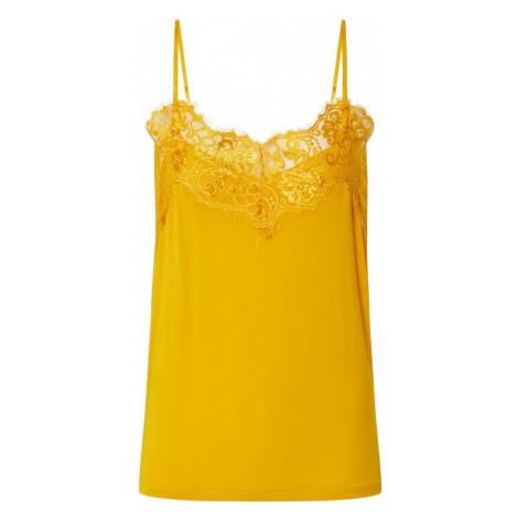 SOAKED IN LUXURY Top 'Clara' żółty