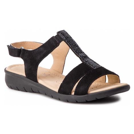 Sandały CAPRICE - 9-28605-22 Black Suede 004