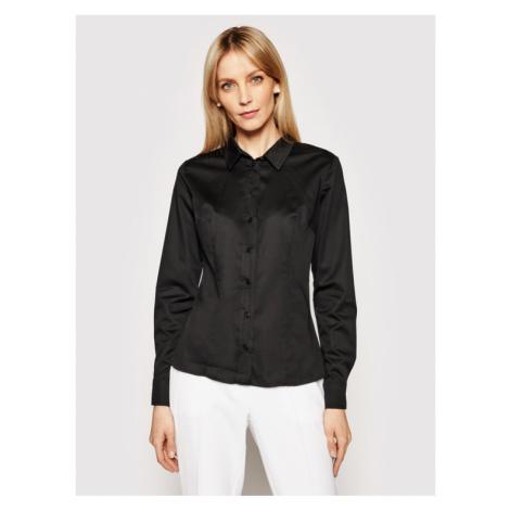 Guess Koszula Cate W1RH41 WAF10 Czarny Slim Fit
