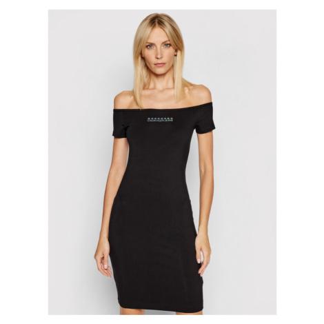 Calvin Klein Jeans Sukienka codzienna J20J215680 Czarny Slim Fit