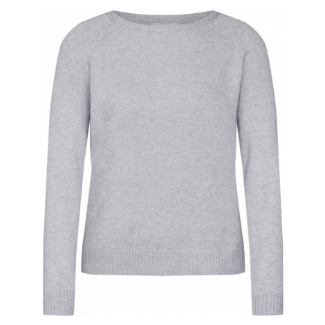 ONLY Sweter 'LESLY KINGS' jasnoszary