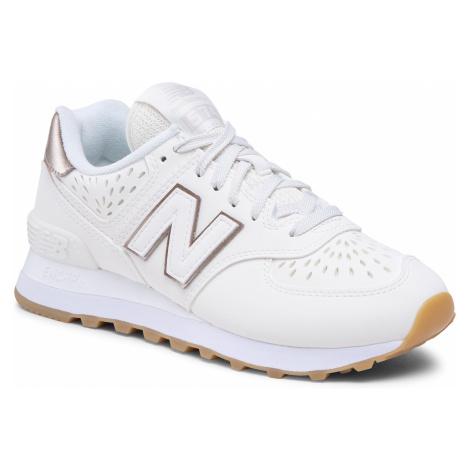 Sneakersy NEW BALANCE - WL574SLP Beżowy