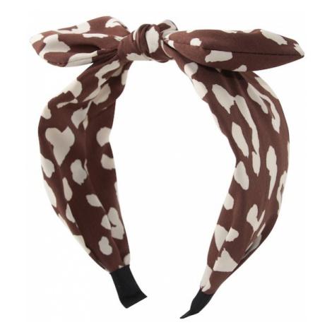 Orelia Biżuteria do włosów 'tan animal headband' beżowy / brązowy