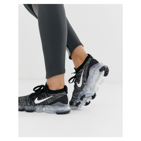 Nike Running Vapormax Flyknit Trainers In Black