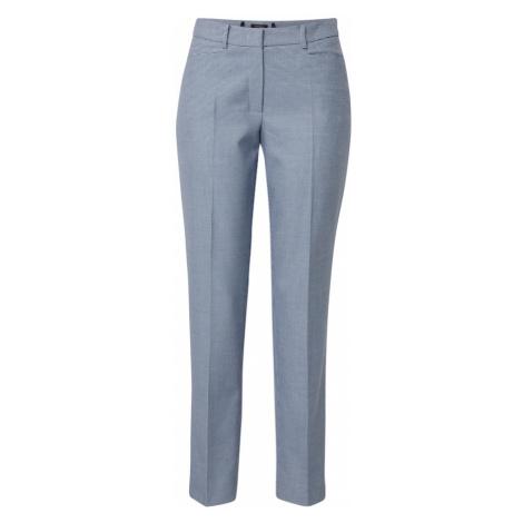 MORE & MORE Spodnie w kant 'Hedy' gołąbkowo niebieski